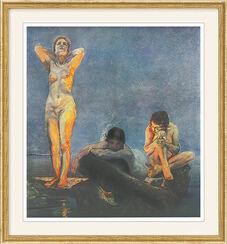 "Bild ""Die blaue Stunde"", 1890, gerahmt"