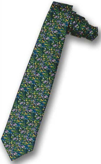 Louis C. Tiffany: Tie 'Flower tendrils'