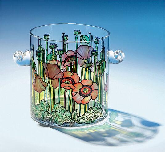 """Champagne Bucket """"Flower Meadow"""""""