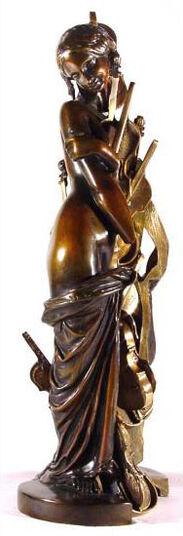 "Arman: Skulptur ""Promesse de Bonheur"" (1993), Bronze"