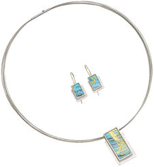 Jewelry set 'Sea of Love'