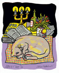 "Bild ""Katze & Buddenbrook"", ungerahmt"