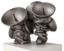 """Skulptur """"Listeners"""" (2015)"""