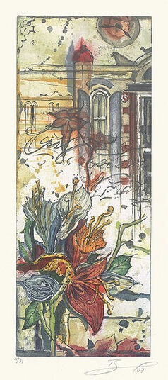 """Rüdiger Brassel: Bild """"Florentinische Impressionen II"""" (2007), ungerahmt"""