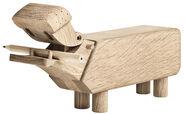 """Holzfigur """"Flusspferd"""""""