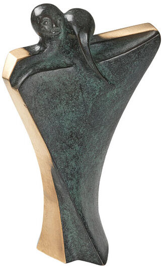 Luise Kött-Gärtner: Sculpture 'Dancing Couple', bronze
