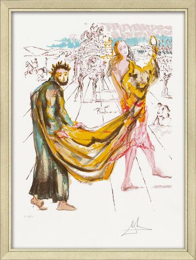 """Salvador Dalí: Bild """"Die Liebenden - Das Königreich"""" (1979), gerahmt"""