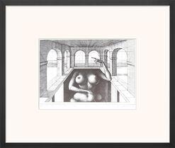 "Bild ""Eva Fundamental"" (1973), gerahmt"