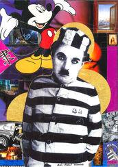 "Bild ""Charlie Chaplin"" (2014) (Unikat)"