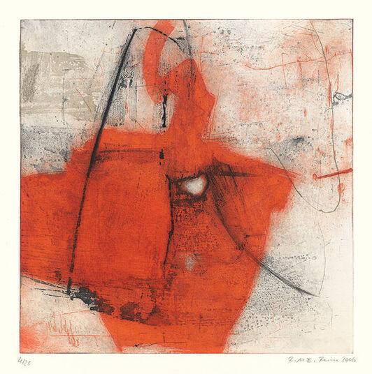 "Regina Reim: Bild ""Ohne Titel"" (2006), gerahmt"
