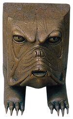 """Sculpture """"Hector"""", bronze"""