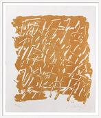 "Bild ""Kalender - Sanddruck"" (2009), gerahmt"