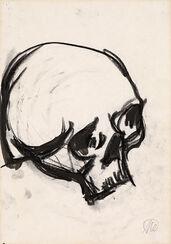 "Bild ""Skull II"" (Unikat)"