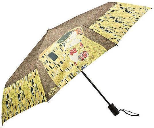 """Gustav Klimt: Taschenschirm """"Der Kuss"""""""