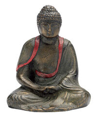 "Buddha sculpture ""Meditating Amida"",art bronze"