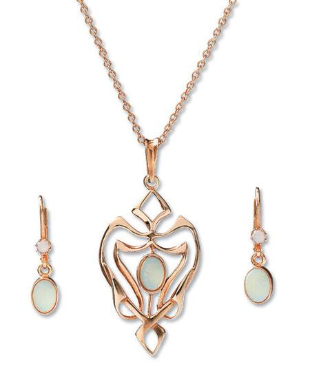 """Jewelry set """"Jeunesse"""""""