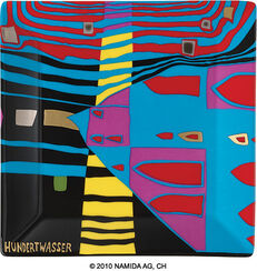 "Gabenschale ""Detail of Infinity"" (15 x 15 cm, schwarz)"