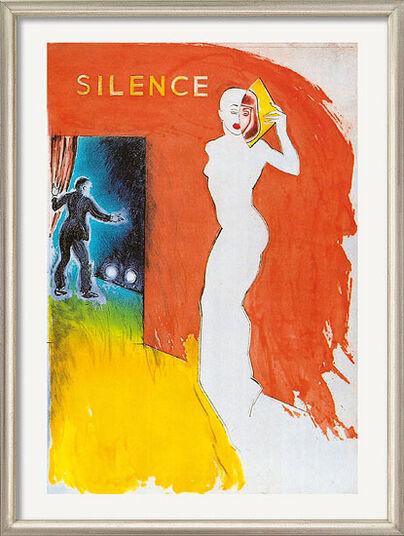 "Allen Jones: Bild ""Silence"", gerahmt"