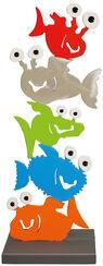 """Gartenskulptur """"Monster-Fischturm"""""""