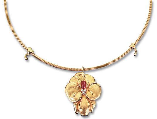 Ernst Fuchs: Granatblüten-Collier