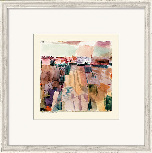 "Paul Klee: Bild ""Kairuan"" (1914), gerahmt"