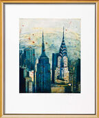 "Bild ""New York"" (2008), gerahmt"