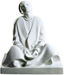 "Skulptur ""Blinder Bettler"", Porzellan"