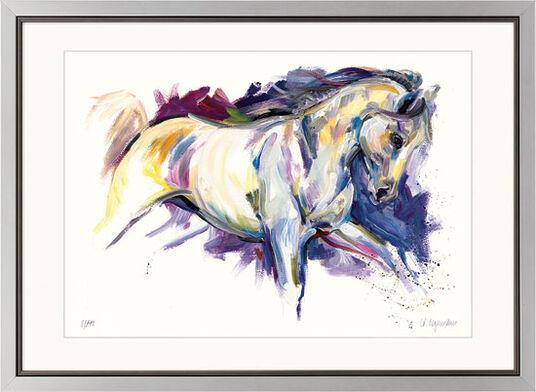 """Audrey Hagemann: Bild """"Cavallo"""", gerahmt"""