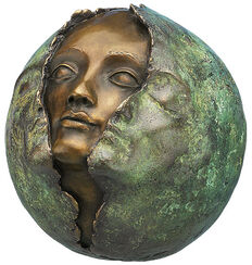 "Sculpture ""Metamorphose"", bronze"