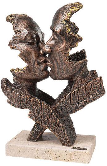 """Angeles Anglada: Skulptur """"Desire"""", Kunstguss Steinoptik"""