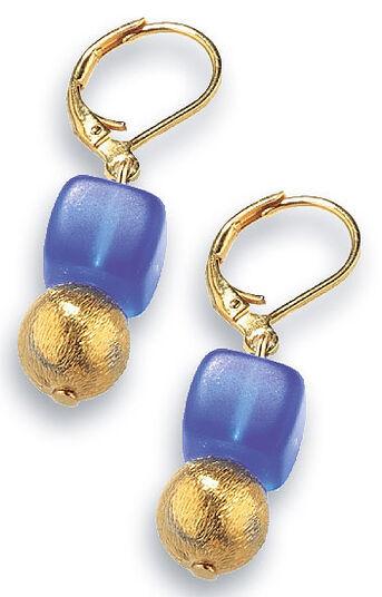 Petra Waszak: Earrings 'Deep Blue'