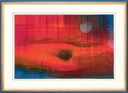 """Bild """"Liebesland"""" (2002), gerahmt"""