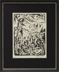 """Bild """"Fünf Mädchen am Waldteich"""" (1919)"""