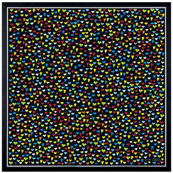 "Painting ""Hearts in Universe"" - Ars Mundi donates EUR 100"