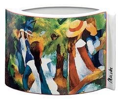 """Porzellanvase """"Mädchen unter Bäumen"""" (1914)"""