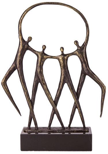 """Gerard: Skulptur """"Hand in Hand"""""""