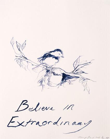 "Tracey Emin: Bild ""Believe in Extraordinary"" (2014)"