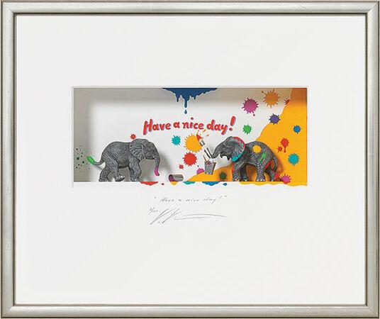 "Volker Kühn: 3D-painting ""Have a nice Day!"""