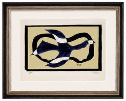 """Bild """"Oiseau traversant le nuage"""" (1957)"""