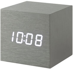 "Table Clock ""Alume Cube"""