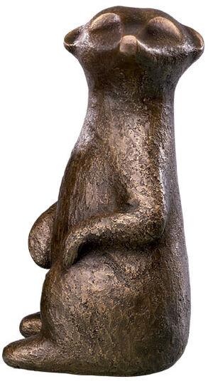 """Antje Michael: Sculpture """"Fifikus II"""" (2012), bronze"""