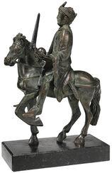 "Equestrian statuette ""Charlemagne"", Bronze version"