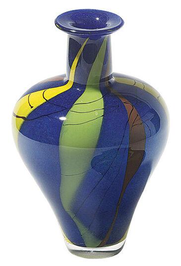 """Glass Vase """"Azzurro"""""""