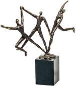 """Skulptur """"Dynamisches Team"""""""
