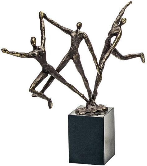 """Gerard: Skulptur """"Dynamisches Team"""""""