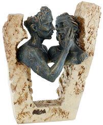 "Skulptur ""Adoration"", Kunstguss Steinoptik"