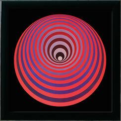 "Bild ""Oervegn"" (1970er Jahre), gerahmt"