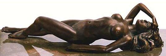 "Kay: Skulptur ""Appassionata"" (1987), Version in Bronze"
