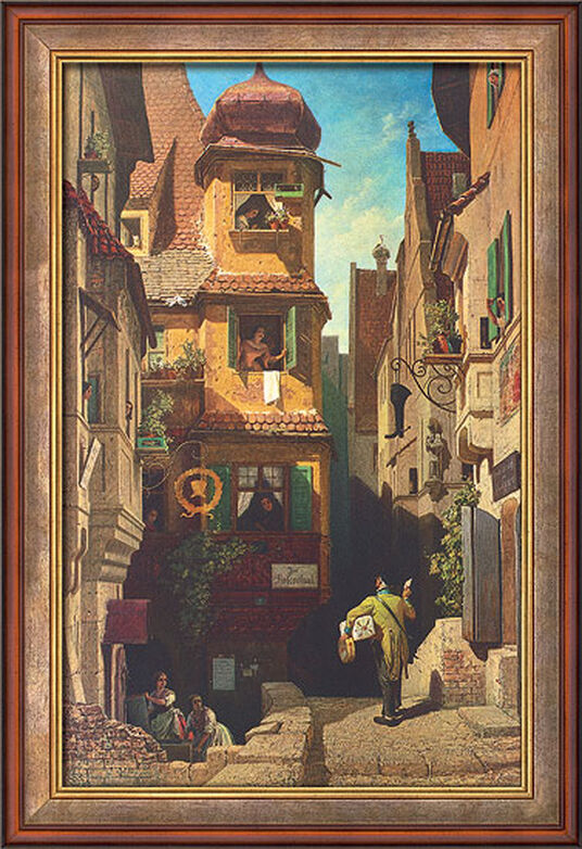 u0026quot the letter messenger in rosenthal  u0026quot  by carl spitzweg