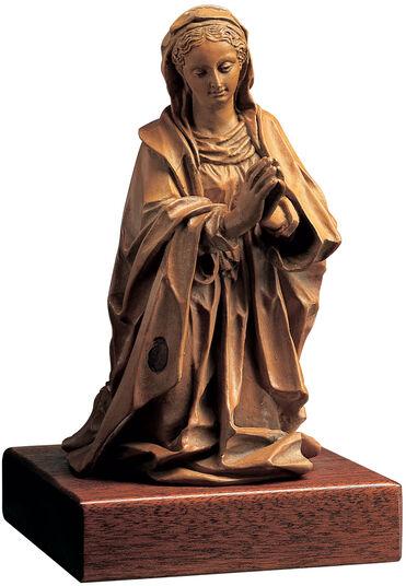 """Skulptur """"Maria von einer Geburt Christi"""", Kunstguss"""